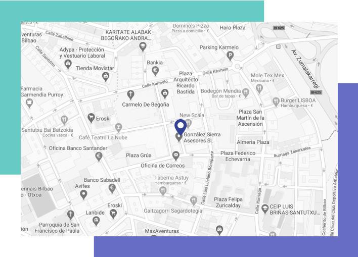 Mapa de Santutxu
